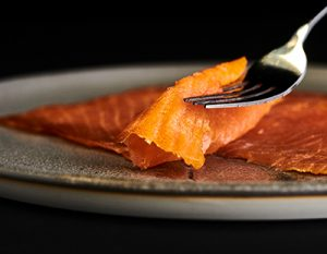 Rich Cold Smoked Salmon